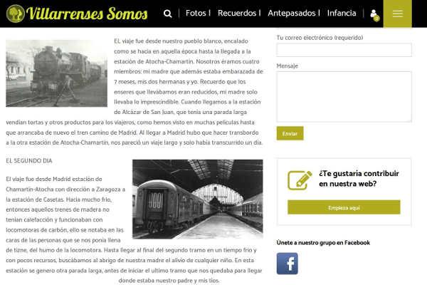 pagina de Villarrensessomos