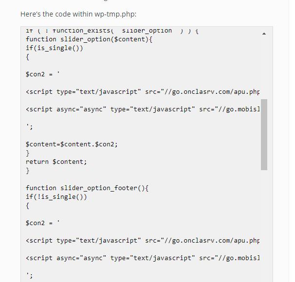 Malware en WordPress
